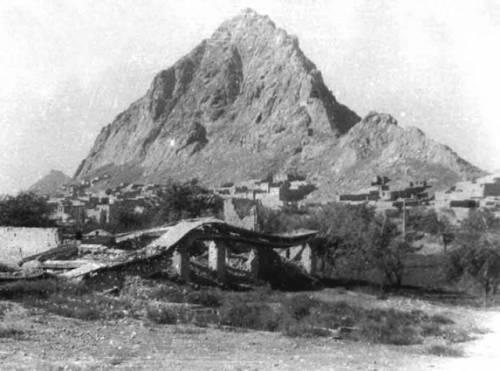 Кандагар гора сургар со стороны южной